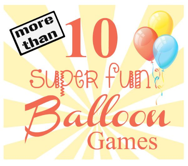 143 best fun ideas for kids images on pinterest children for Fun balloon games for kids