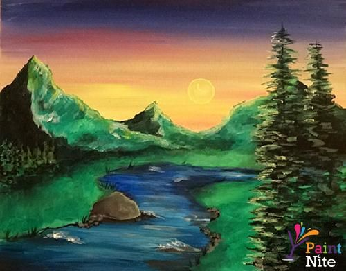 Paint Nite Worcester | Mountain Barn January 21st