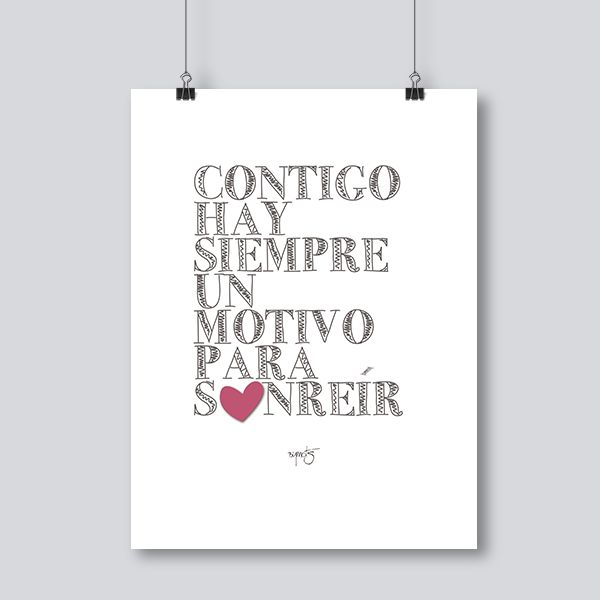 Láminas con frases bonitas #bymots #laminas #cuadros #mensajes #frases #decoracion #graphicdesign