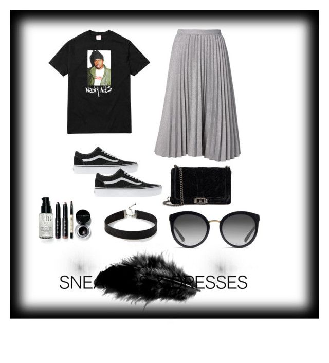 """""""Untitled #170"""" by ezerys on Polyvore featuring Vans, Rebecca Minkoff, Bobbi Brown Cosmetics, Express and Dolce&Gabbana"""