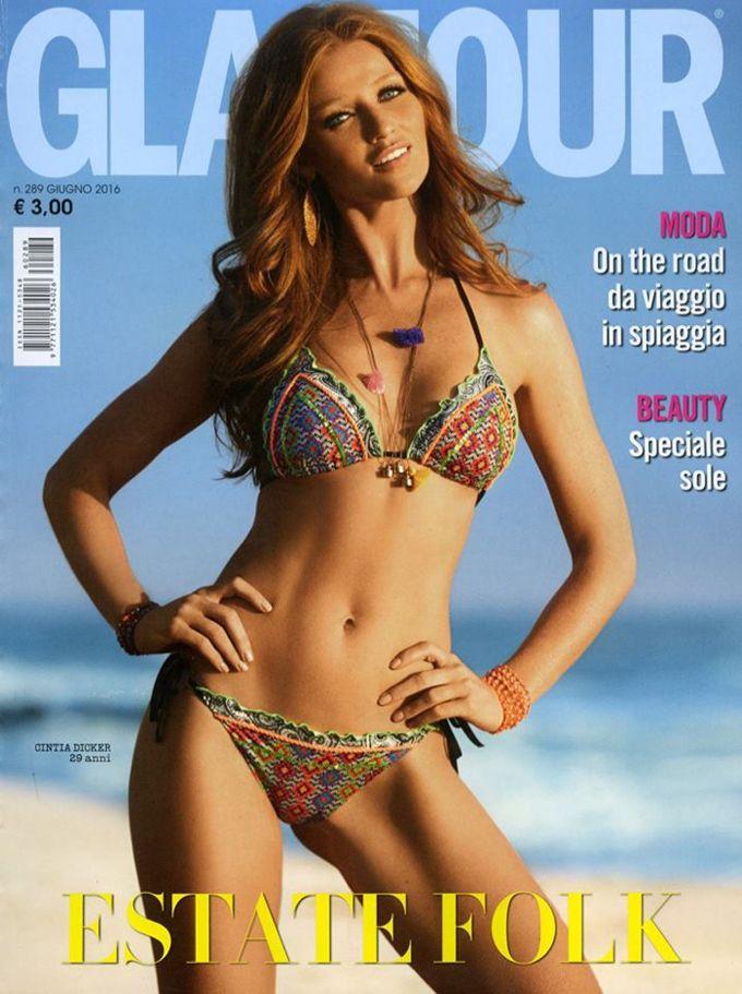 Синтия Дикер в Glamour Italy (Интернет-журнал ETODAY)