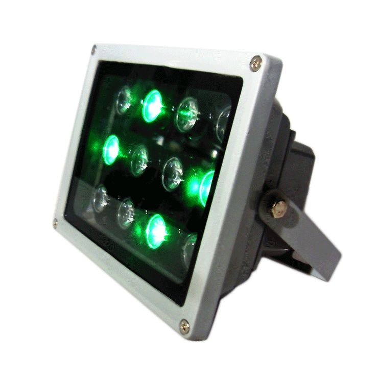 rgb led flood light 12W, single color also available.