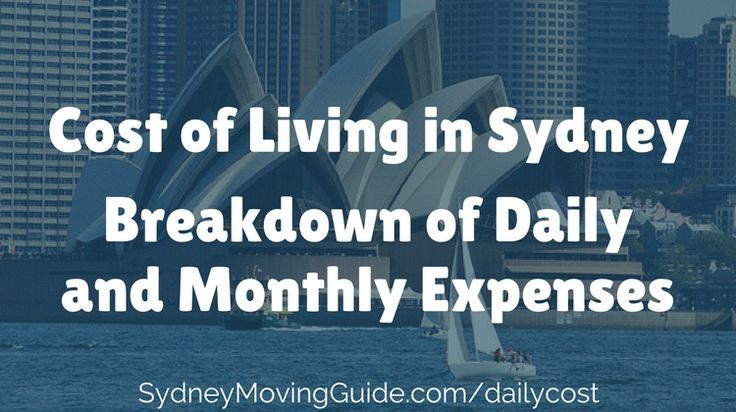 Moving to Australia Tips | Expat Life | Living Abroad | Moving Overseas |  Sorting Out the Cost Of Living in Sydney Before You Move