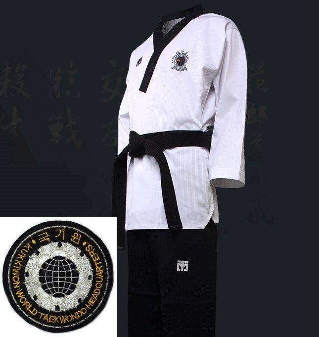 Taekwondo Tae Kwon Do Mooto WTF Poomsae Dan Uniform Male Dobok Kukkiwon Korean #mooto