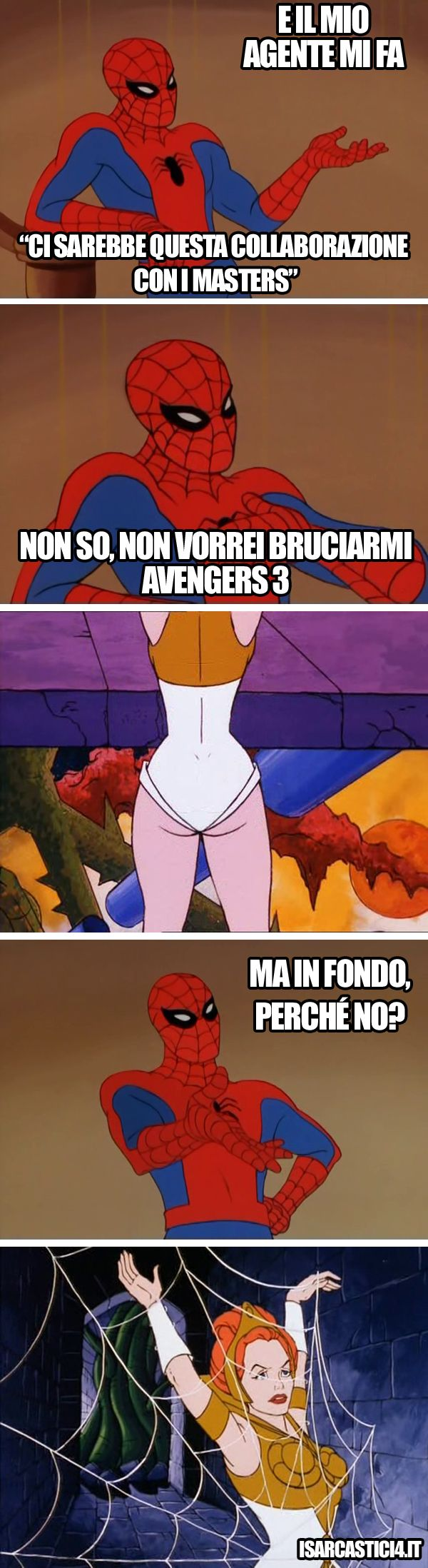 Spiderman avengers meme ninja turtles
