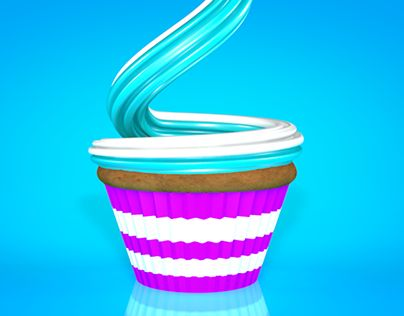 """Check out new work on my @Behance portfolio: """"The Cup Cake"""" http://be.net/gallery/35623285/The-Cup-Cake"""