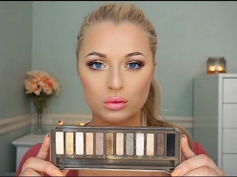 Urban Decay Naked 2 Palette   Bronzey Gold Tutorial