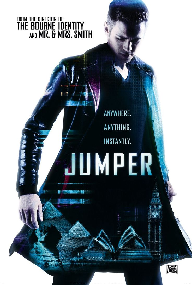 Extra Large Movie Poster Image for Jumper