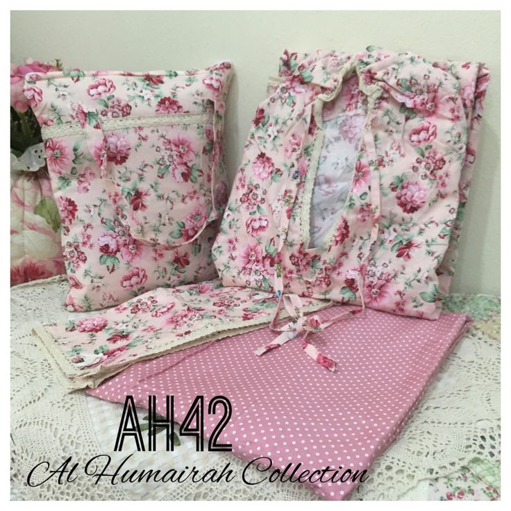 Al Humaira Telekung Cotton – AH42  RM150.00  – Telekung cotton with printed design  – Special vintage style design  – Japanese cotton material  – Face size up to L size  – Set includes beautiful handmade bag & mini sajaddah  – Limited pieces  http://www.telekung.co/product/ah42/