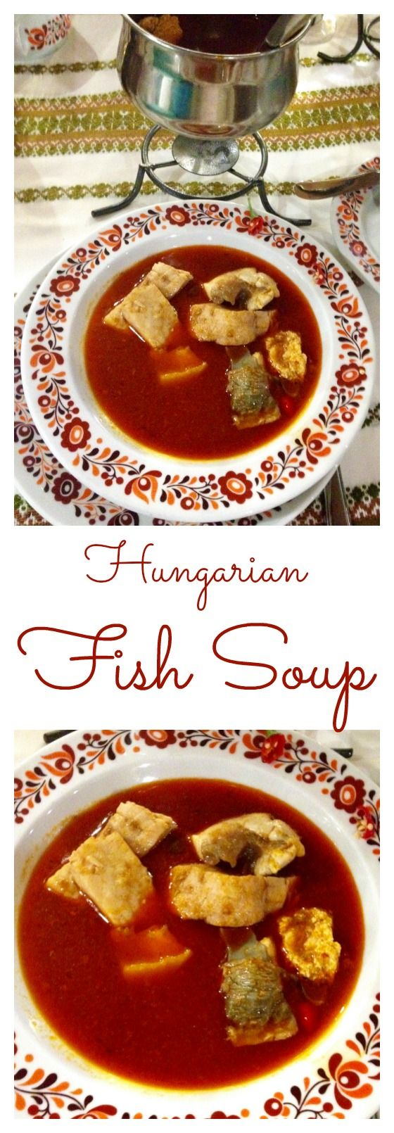 Hungarian fish soup (Halászlé) is one of the most popular Christmas dishes. It is a hot soup prepared with mixed freshwater/river fish. It is considered to be a national specialty. Click for the recipe.