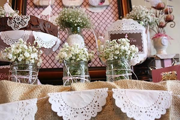 Shabby Chic First Communion {Birthday Party Inspiration} - Kara's Party Ideas - The Place for All Things Party