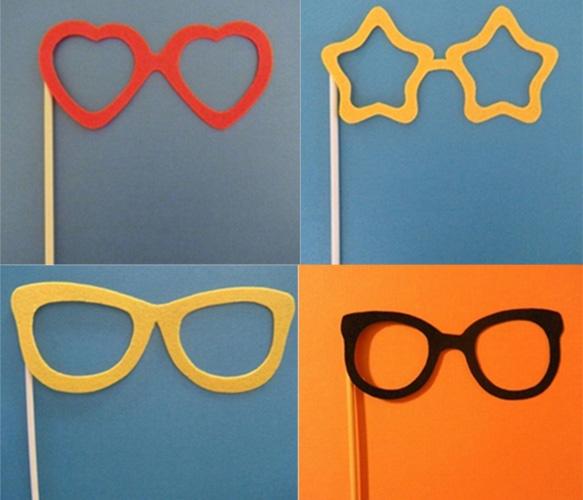 Glasses on a Stick. Bid Day: Photos Booths, Sticks Photobooth, Photoprops Fram, Photobooth Props, Photo Booths, Amusement Photos, Kid, Impromptu Photos