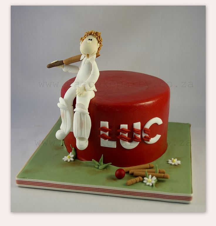 I made this for a little boy who loves cricket! Happy Wednesday! Dot♥ Like us on facebook
