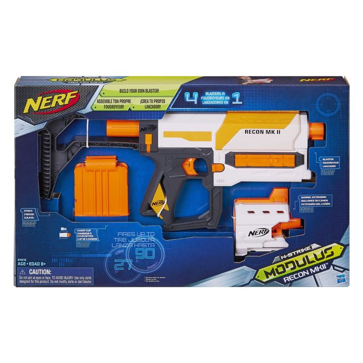"""Get ready to turn the tacticool level up to 10! They have """"modulized"""" the Nerf Recon in dramatic fashion! It's the Nerf Recon, Modulus MKII Blaster Review!"""