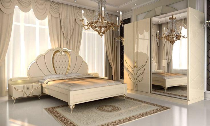 Royal halı modelleri ile yatak odalarınızda şıklığı yakalayabilirsiniz. Burada avangard stildeki bir yatak odasında bir halının ne kadar önemli bir faktör olabileceğini görüyoruz. Roya