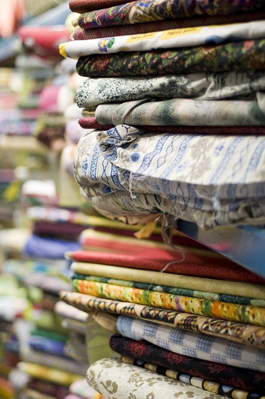 Quilting fabrics - Visit the Creativ Festival with Maple Leaf Tours
