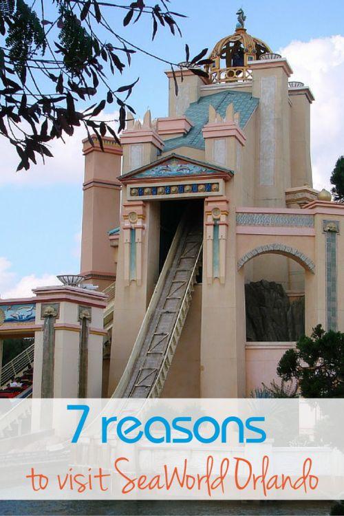 Seven Reasons to Visit SeaWorld Orlando - Traveling Mom
