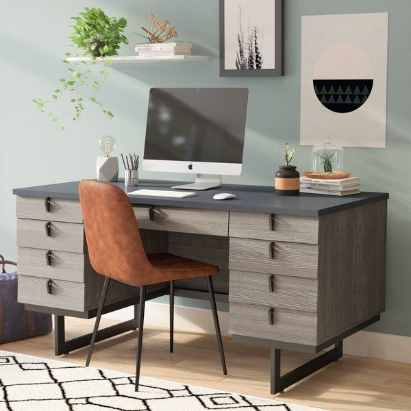 Add A Luxurious Touch To Your Home With This Executive Desk From The International Lux Collecti Cheap Office Furniture Home Office Furniture Home Office Design