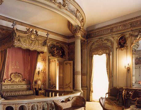 Louise Vanderbiltu0027s Versailles Inspired Bedroom In Hyde Parku0027s Vanderbilt  ...