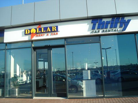Thrifty Car Rental & Dollar Rent a Car at Durban's King Shaka International Airport