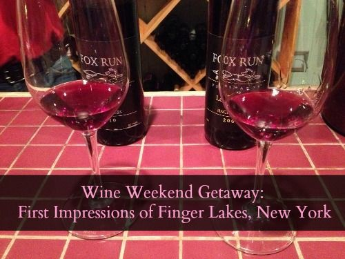 Wine Weekend Getaway: First Impressions of Finger Lakes, New York
