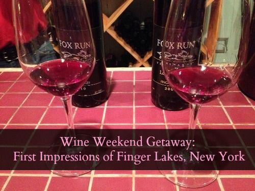 Wine weekend getaway first impressions of finger lakes for Weekend getaways in new york