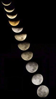 As fases da Lua. Mais