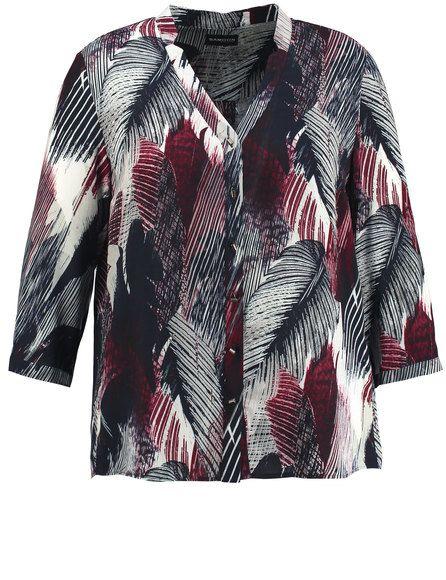 Voor vrouwen met een flair! Helemaal hip en heerlijk is deze ongedwongen blouse, gemaakt van fijn vloeiende viscose met modieuze druk. Benadrukt vrouw... Bekijk op http://www.grotematenwebshop.nl/product/modieuze-lange-blouse/