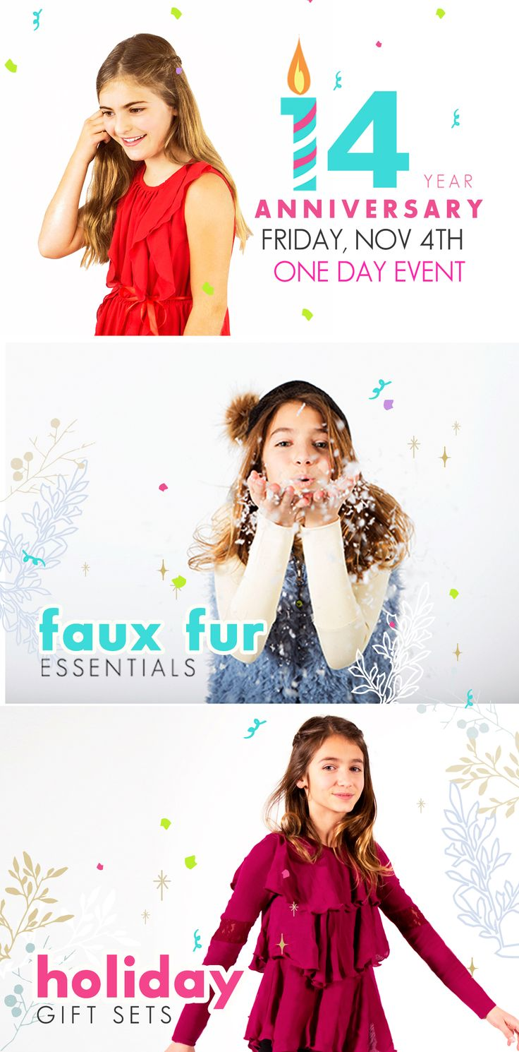 Tween girls fun clothing, great holiday dresses, holiday gifts, one day event Limeapple.com