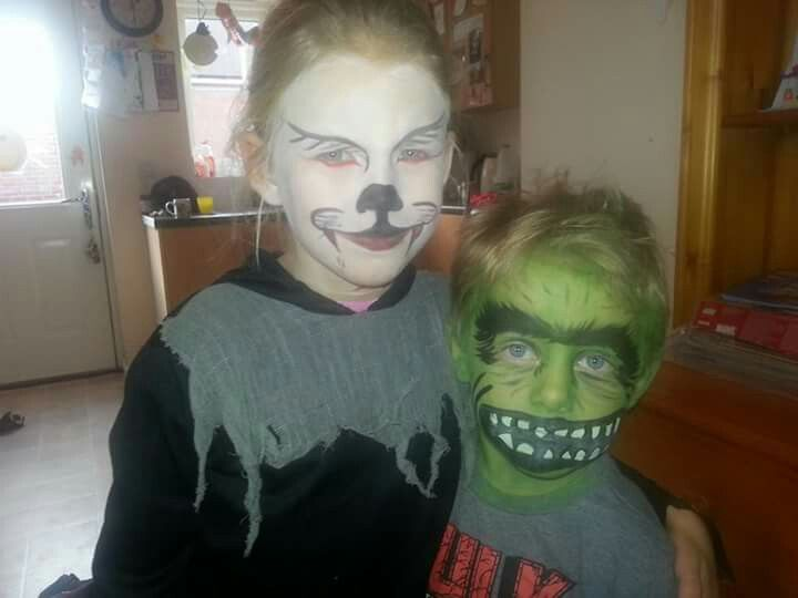 Hulk and wolf