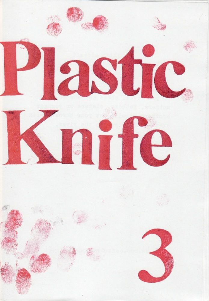 Image of Plastic Knife #3