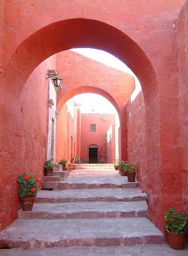 Marsala | Pantone | Color of the Year | 2015 | Santa Caterina Monastry in Peru