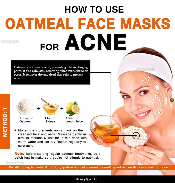 6 Top Diy Oatmeal Face Mask Recipes For Acne Oatmeal Face Mask Oatmeal Face Mask Recipe Diy Oatmeal Face Mask