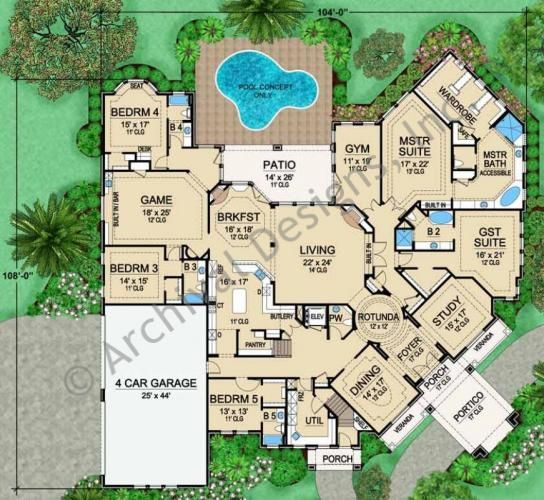 233 best House Blueprints images on Pinterest Dream house plans