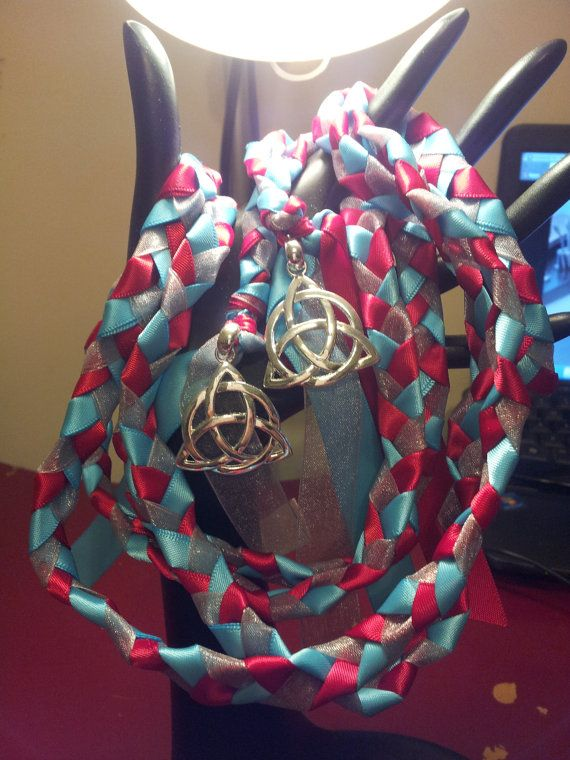 Ink Themed Triquetra  Wedding Hand Fasting/ by DivinityBraid