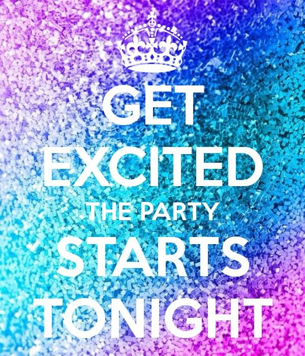 Party starts tonight                                                                                                                                                                                 More