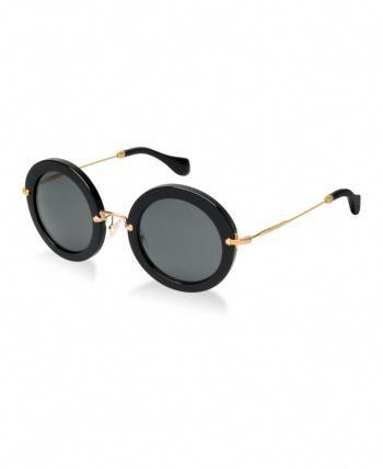 0ec0feb736a4 Miu Miu Sunglasses, Mu 13NS - Black #MiuMiu   Miu Miu in 2019   Miu ...