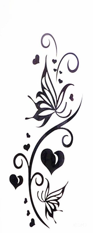 love butterfly tattoo | idea
