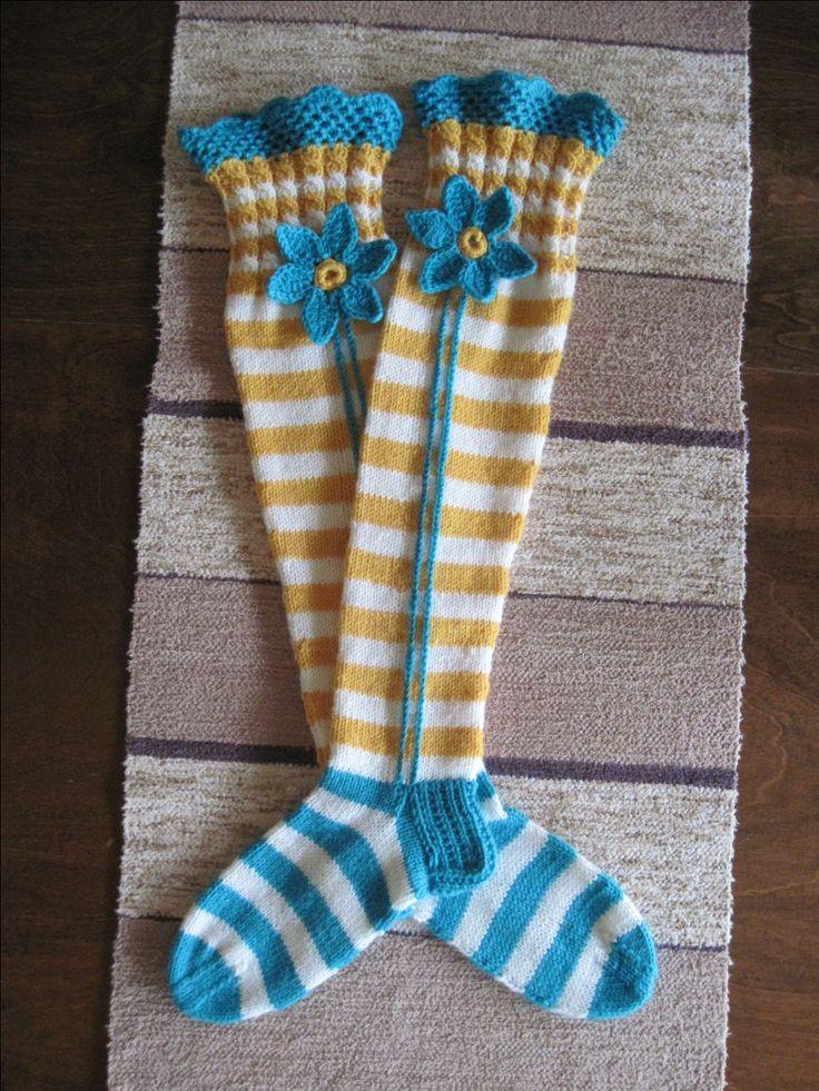 Ylipolven sukat over knee socks