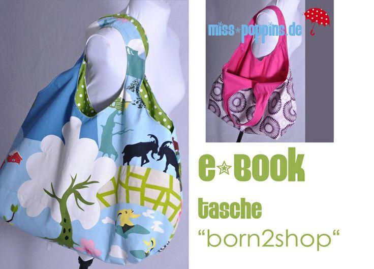 "eBOOK # 45 ♥  Tasche ""born2shop"" von leni pepunkt auf DaWanda.com"