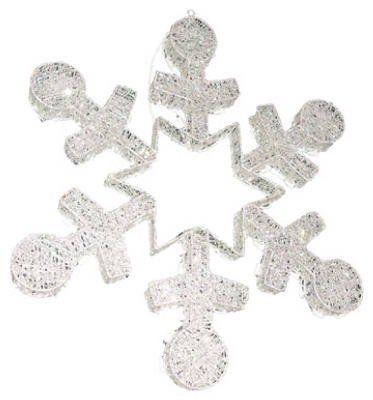 """30"""" Silver Glit Snowflake by Noma/Inliten. $62.99. 30"""" Silver Glit Snowflake"""