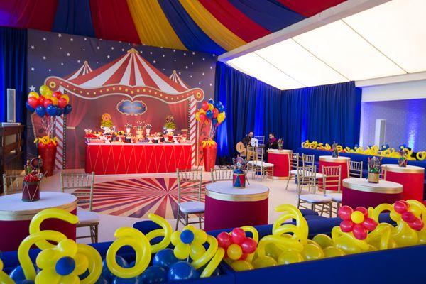 Festa infantil aniversário no circo 7
