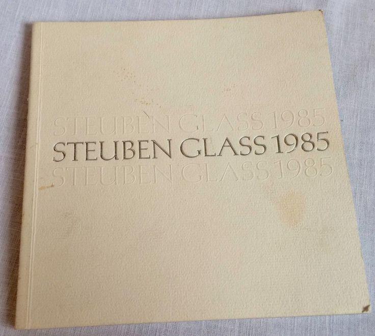 1985 Steuben Glass Christmas Catalog Booklet Color Photos Vintage #Steuben