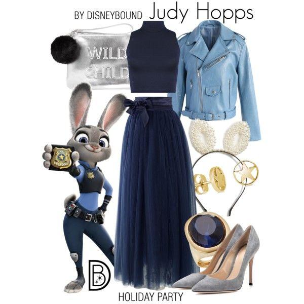 Disney Bound - Judy Hopps