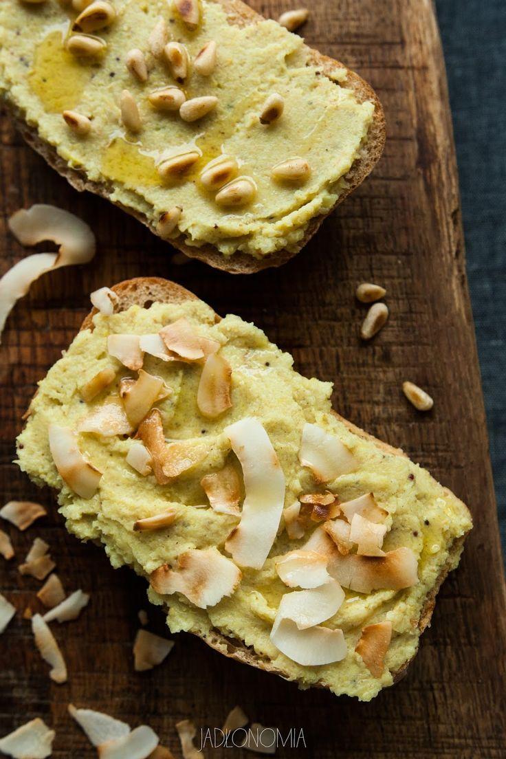 jadłonomia · roślinne przepisy: Pasta z pieczonego kalafiora