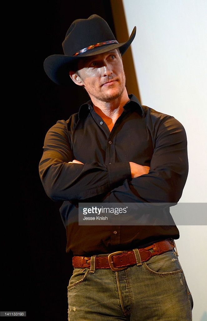 Actor Matthew McConaughey speaks onstage at 'Killer Joe' Q&A during the 2012 SXSW Music, Film + Interactive Festival at Paramount Theater on March 10, 2012 in Austin, Texas.