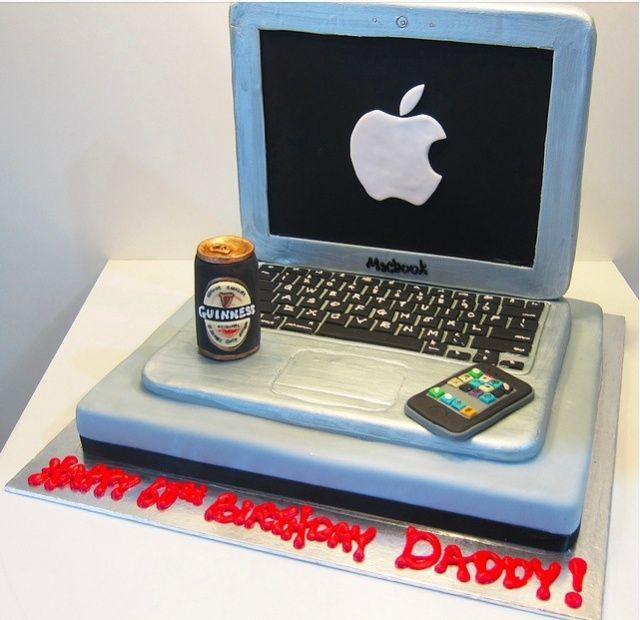 The 13 Best Apple Computer Cakes Ever Baked [Gallery]