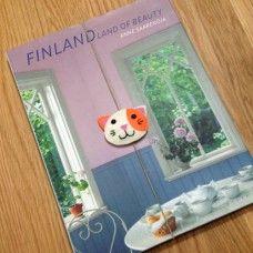 Lastikli Kedi Kitap Ayracı