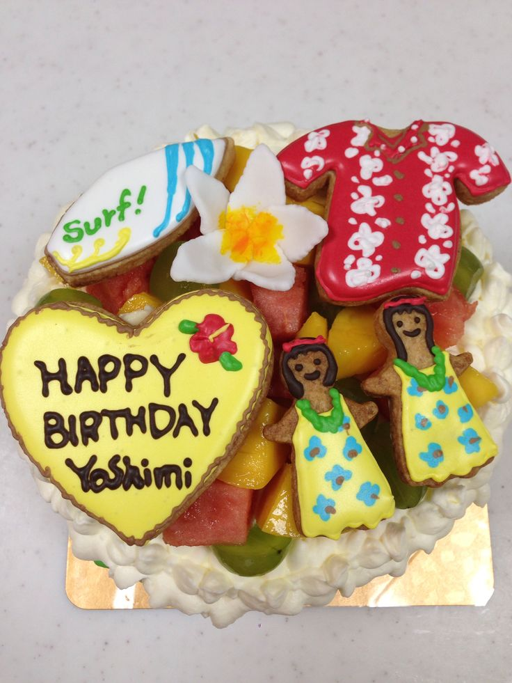 ハワイのケーキ