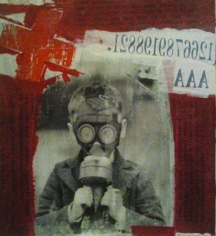 Nigel Borowskj Mixed Media Art 2013